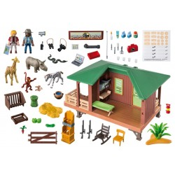 6936 - Clínica Veterinaria de Africa - Playmobil