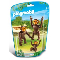 6650 - Familia Chimpancé - Playmobil