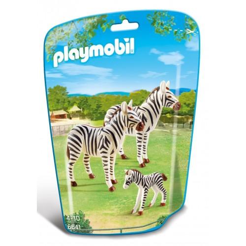 6641 - Familia de Cebras - Playmobil