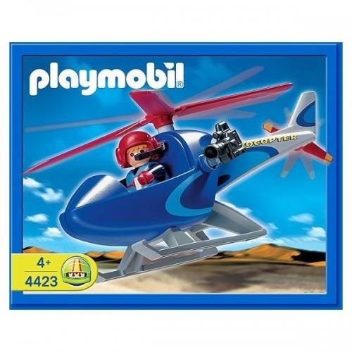 4423 - Helicóptero Cámara Reportero - Playmobil