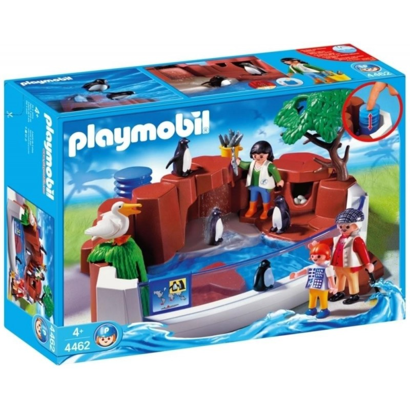 4462 piscina de ping nos playmobil playmobileros
