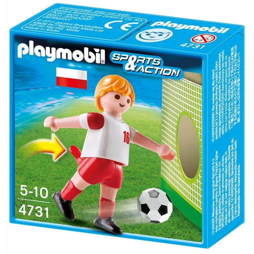 4731 - Futbolista Polonia - Playmobil