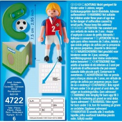 4722 - Futbolista República Checa - Playmobil