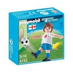 4732 - Futbolista Inglaterra - Playmobil