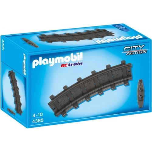 4385 - 10 Vías de Tren Curvas - Playmobil