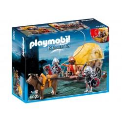 6005 - Caballeros del Halcón con Carruaje Camuflaje - Playmobil