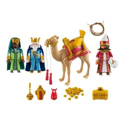 5589 - Tres Reyes Magos Oro Incienso Mirra - Playmobil
