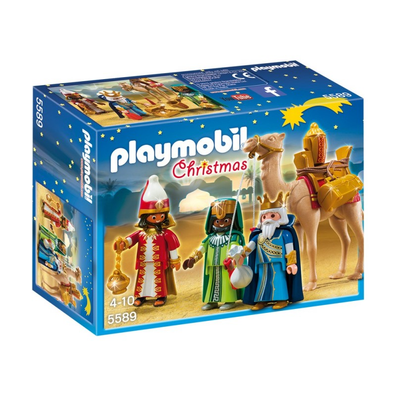 5589 - Tres Reyes Magos Oro Incienso Mirra - Playmobil