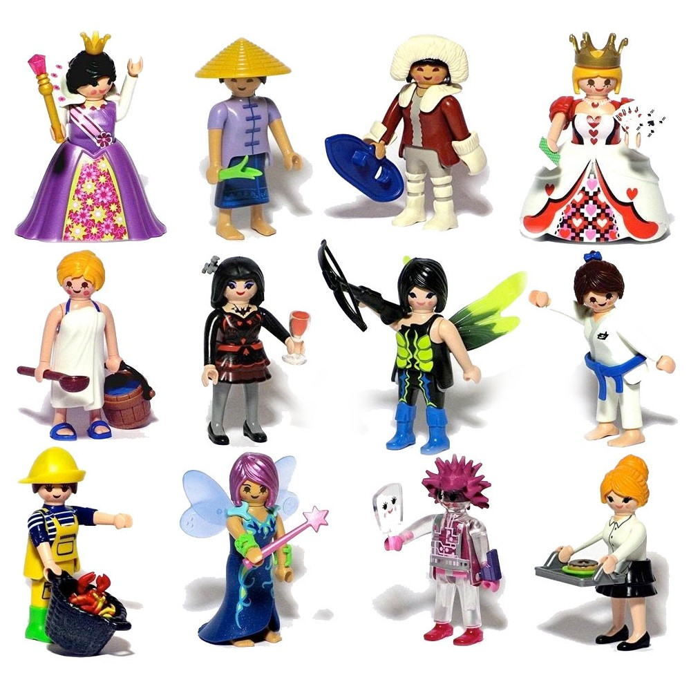 6841 figures playmobil  about surprise  series 10