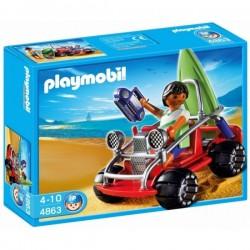 4863 - Surfero con Buggy - Playmobil