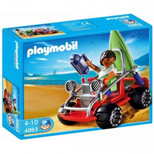 4863 - Surfero con Buggy - Playmobil