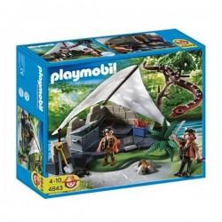 4843 - Campamento Buscadores del Tesoro - Playmobil