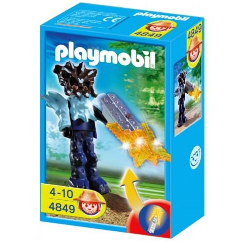 4849 - Guardián del Templo con Arma Naranja - Playmobil