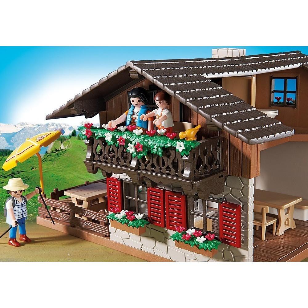 5422 casa granja de los alpes playmobil for Casa moderna de lujo playmobil