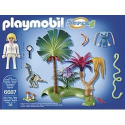 6687 - Isla Perdida con Alien y Raptor