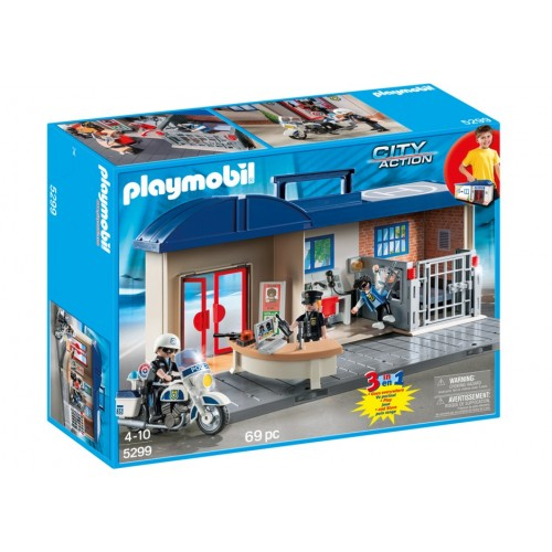 5299 - Estación de Policía Maletín - Playmobil