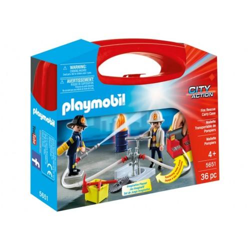 5651 - Maletín Grande Bomberos - Playmobil