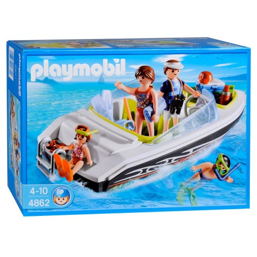 4862 - Lancha Familiar Verano - Playmobil