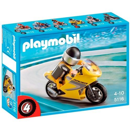 5116 - Moto de Carreras - Playmobil