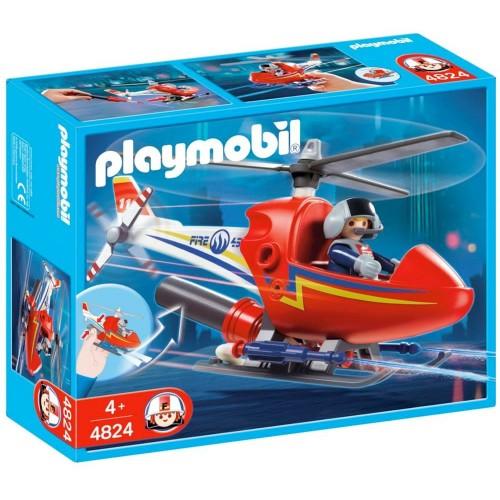 4824 - Helicóptero Prevención de Incendios - Playmobil
