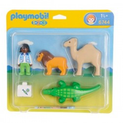 6744 - Veterinario Animales - 1.2.3 Playmobil