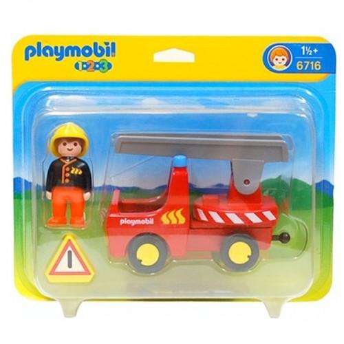 6716 - Camión de Bomberos - 1.2.3 Playmobil