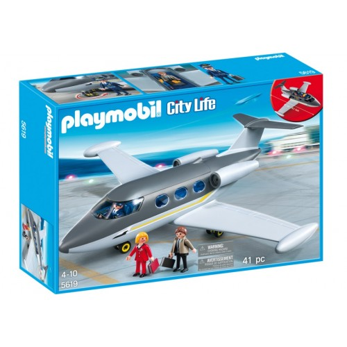 5619 - Avión Jet Privado - Playmobil USA