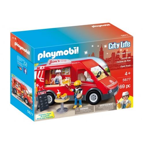 5677 - Furgoneta Comida Rápida - Playmobil USA