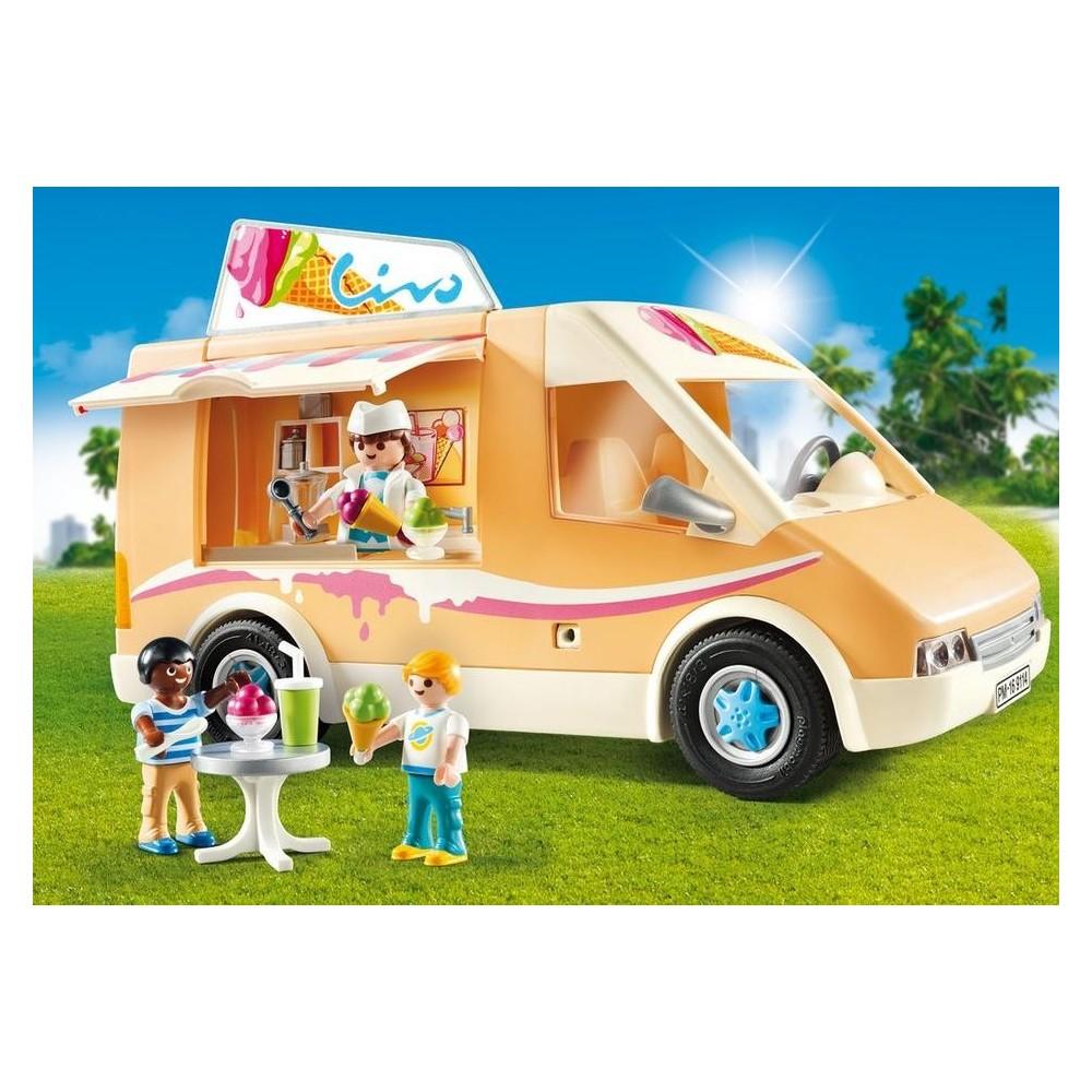 9114 cami n de helados playmobil usa playmobileros tienda de playmobil nuevo y ocasi n - Playmobil camion ...