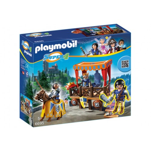 6695 - Tribuna Real con Alex - Playmobil