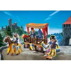 6695 - Tribuna Real con Alex - Playmobil