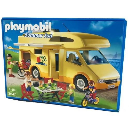 3647 - Caravana Camping - Playmobil