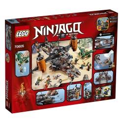70605 - Fortaleza Mala Fortuna - Ninjago - LEGO