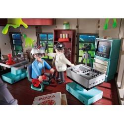 9219 - Cuartel Parque de Bomberos Ghostbusters - Playmobil