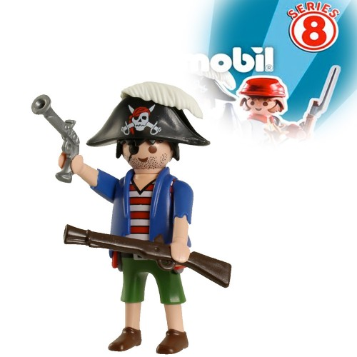 5596 figures series 8 - pirate