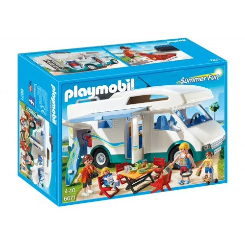 6671 - Caravana de Verano - Playmobil