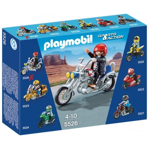 5526 - Moto Chopper - Playmobil