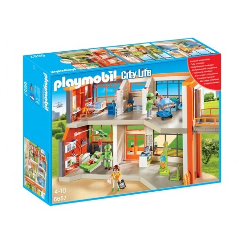 6657 - Hospital Infantil - Playmobil