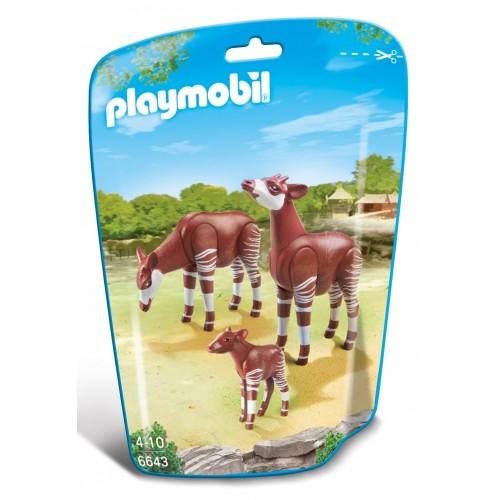 6643 - Familia Okapis - Playmobil