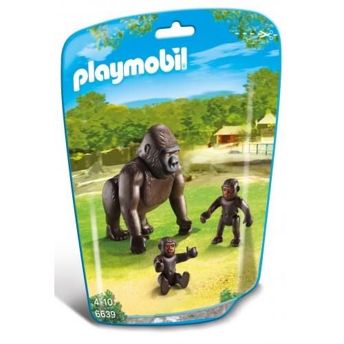 6639 - Gorila con Bebés - Playmobil