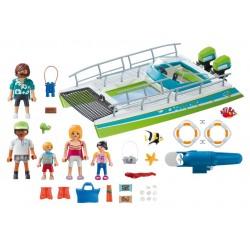 9233 - Barco con Visión Submarina y Motor - Playmobil