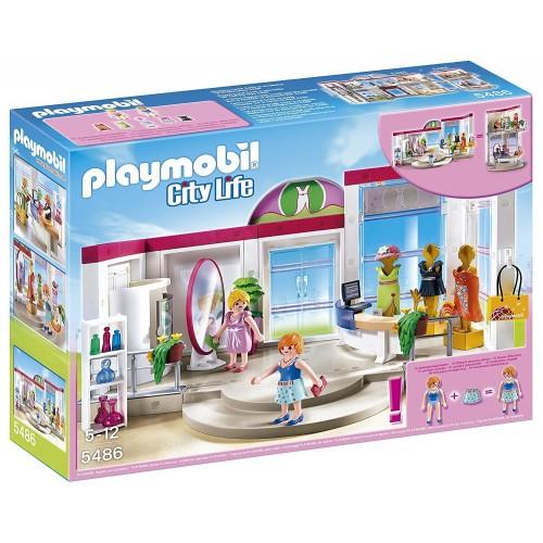 5486 - Tienda de Ropa Moda - Playmobil