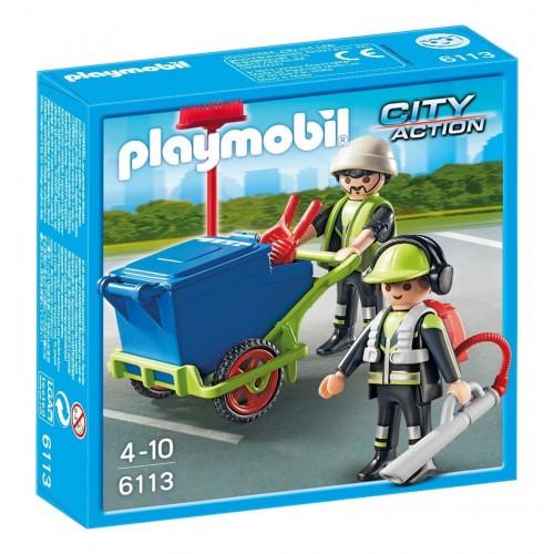 6113 - Equipo de Limpieza - Playmobil