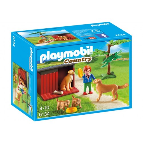 6134 - Golden Retrievers - Playmobil