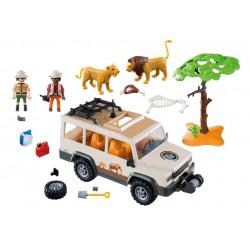 6798 - Vehículo Safari con Leones - Playmobil
