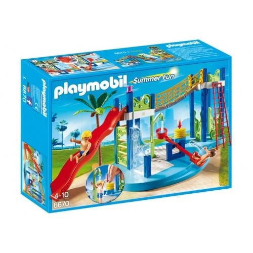 6670 - Zona de Juegos Acuáticos - Playmobil