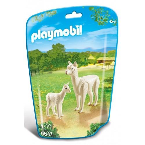 6647 - Alpaca con Bebé - Playmobil