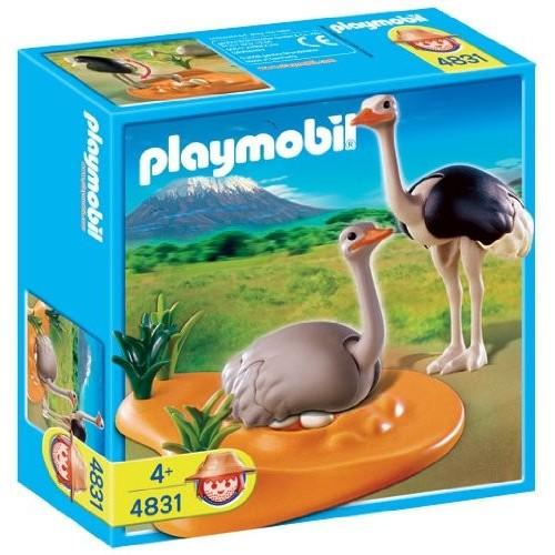 4831 - Avestruces con Nido - Playmobil