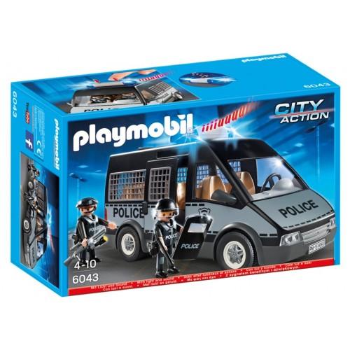6043 - Furgón de Policía con Luces y Sonido - Playmobil