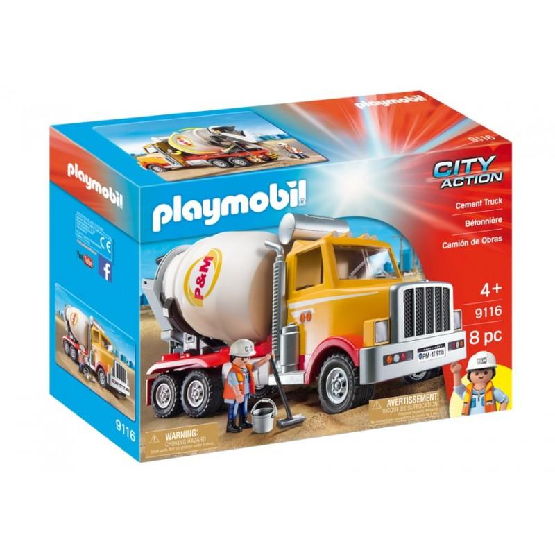 9116 - Camión de Cemento - Exclusivo Playmobil USA